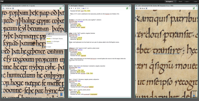 The Digital Mappa project also annotates medieval manuscripts. Click for a larger image.