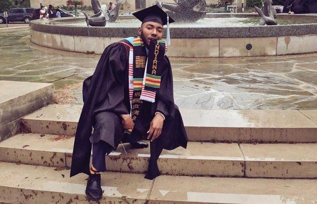 Anthony Wright  Black And Hooded Indiana University Slideshow 645X415
