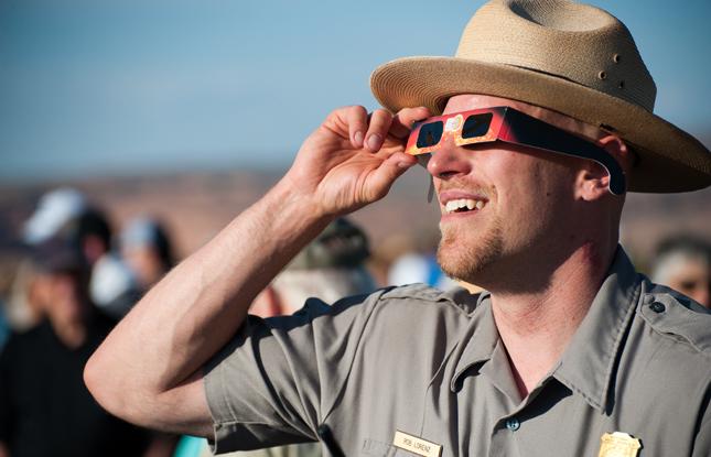 Eclipse Glasses National Park Slideshow 645X415