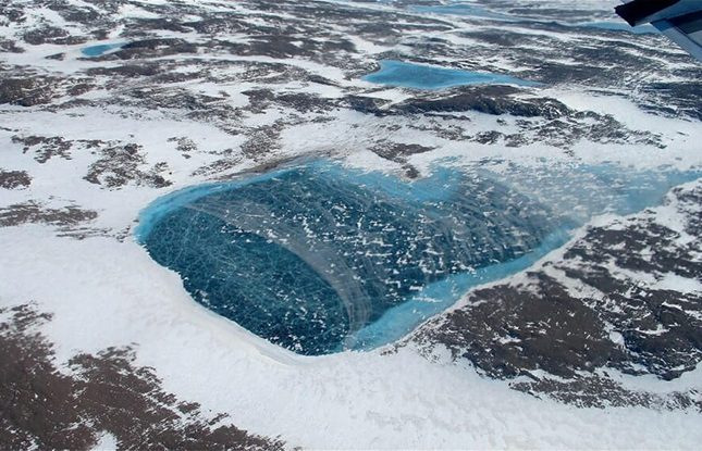 Greenland Meltwater Slideshow 645X415