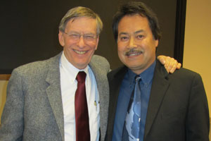 Bud Selig and Professor Regalado