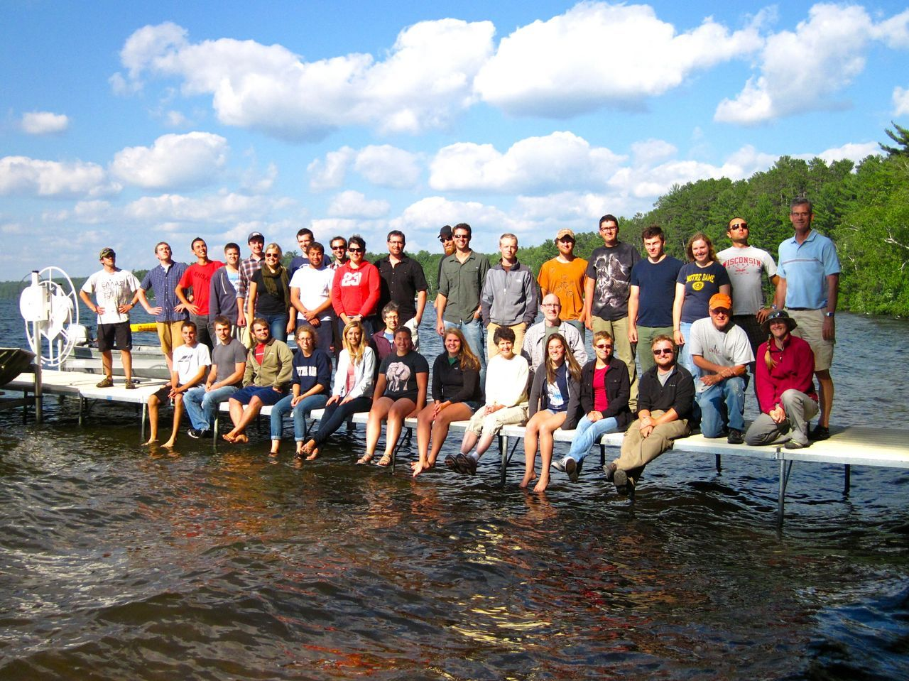 Trout Lake faculty and students 2013