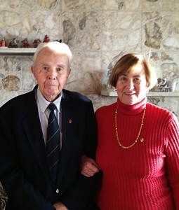 Drs. Paul and Renate Madsen in their home.