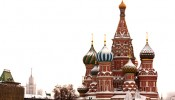 St. Basil's Cathedral in Moscow overlooks Red Square in Moscow. (Photo courtesy iStock)