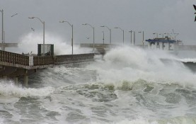 Using state-of-the-art computer models maintained at the National Center for Atmospheric Research, researchers determined that El Niño has intensified over the last 6,000 years. This pier and cafe are in Ocean Beach, Calif. (Photo by Jon Sullivan)