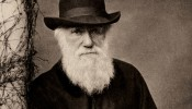 Charles Darwin as an old man. (Image courtesy Wikimedia Commons)