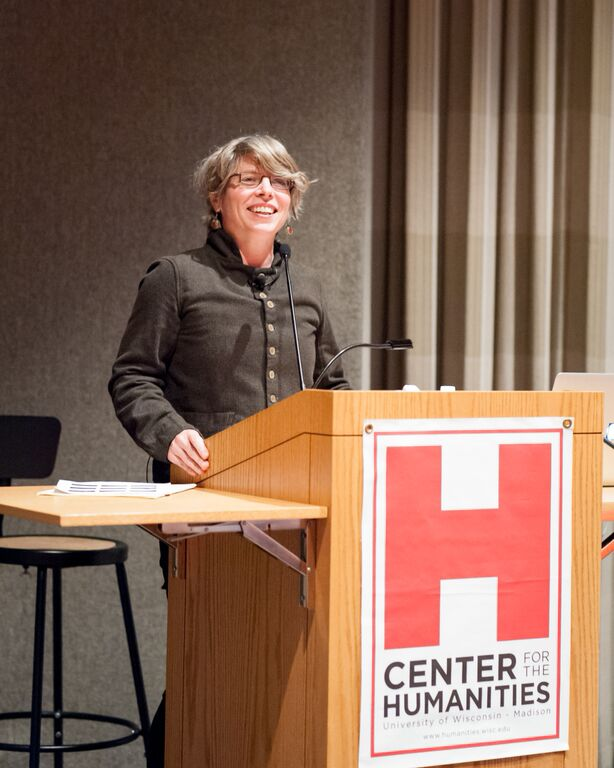 Keynote speaker Jill Lepore, professor of American history, Harvard University