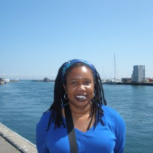 Etheline Whitmire in Kerteminde, Denmark, where African American painter William Henry Johnson lived in the 1930s.